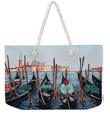 Tied Up In Venice Weekender Tote Bag