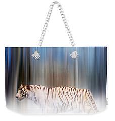 Tiger In The Mist Weekender Tote Bag