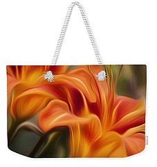 Tiger Lily Weekender Tote Bag by Bill Wakeley