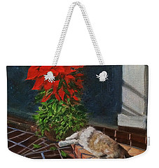 Tiger Lily In Repose Weekender Tote Bag