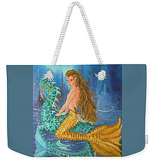 Tiger Lily Tails Weekender Tote Bag