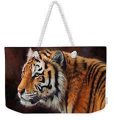 Tiger Portrait  Weekender Tote Bag