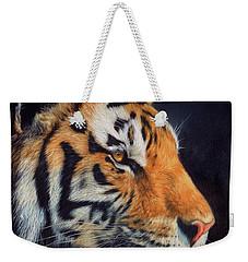 Tiger Profile Weekender Tote Bag