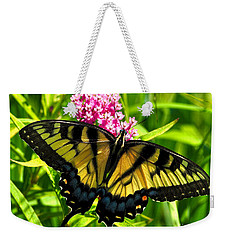 Tiger Swallotail Weekender Tote Bag by Adam Olsen