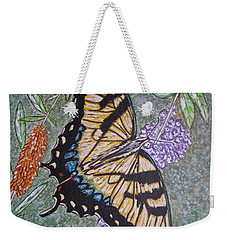 Tiger Swallowtail Butterfly Weekender Tote Bag