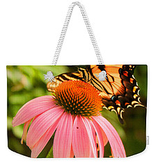 Tiger Swallowtail Feeding Weekender Tote Bag