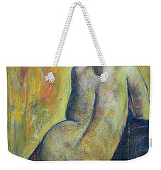 Tiina - Back Of Nude Woman Weekender Tote Bag