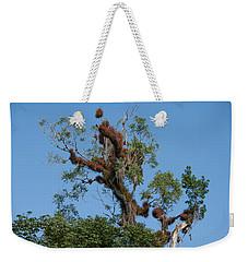 Tikal Furry Tree Weekender Tote Bag