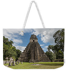 Tikal Pyramid 1j Weekender Tote Bag