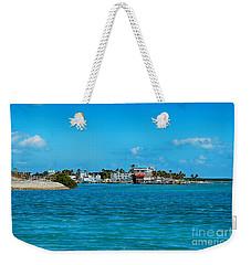 Tiki Bar Islamorada Weekender Tote Bag