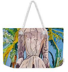 Tiki Weekender Tote Bag