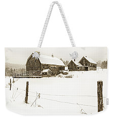 Till Dawn Farm Weekender Tote Bag