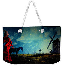Tilting At Windmills Weekender Tote Bag by Galen Valle