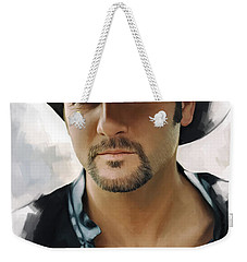 Tim Mcgraw Artwork Weekender Tote Bag