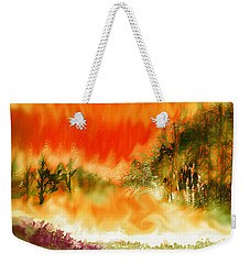 Timber Blaze Weekender Tote Bag by Seth Weaver
