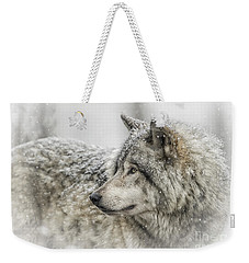 Timber Wolf Pictures 280 Weekender Tote Bag