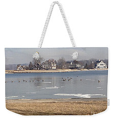 Time In New England Weekender Tote Bag