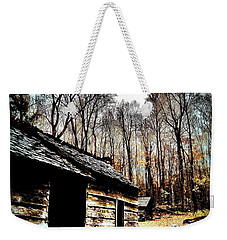 Weekender Tote Bag featuring the photograph Time Standing Still by Faith Williams