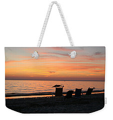 Weekender Tote Bag featuring the photograph Time To Reflect by Karen Silvestri