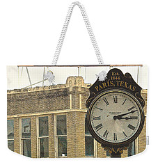 Weekender Tote Bag featuring the photograph Time To Visit Paris by Dee Dee  Whittle