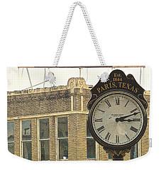 Time To Visit Paris Weekender Tote Bag