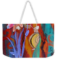Time Traveler Weekender Tote Bag by Robin Maria Pedrero