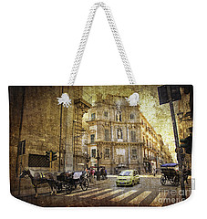 Time Traveling In Palermo - Sicily Weekender Tote Bag