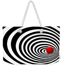 Time Tunnel Op Art Weekender Tote Bag