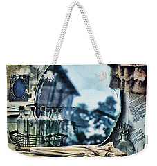 Weekender Tote Bag featuring the photograph Time Warp by Kristi Swift