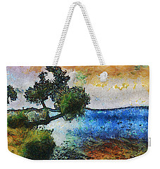 Time Well Spent - Medina Lake Weekender Tote Bag