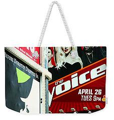 Times Square Billboards Weekender Tote Bag