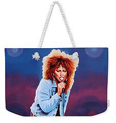 Tina Turner Weekender Tote Bag by Paul Meijering
