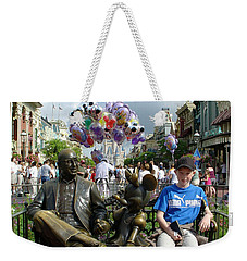 Weekender Tote Bag featuring the photograph Tingle Time by David Nicholls