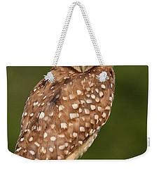 Tiny Burrowing Owl Weekender Tote Bag