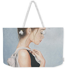 Tiny Dancer Weekender Tote Bag by Dee Dee  Whittle
