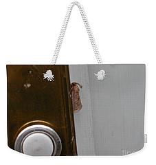 Tiny Doorbell Moth Weekender Tote Bag