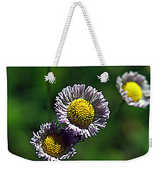 Tiny Little Weed Weekender Tote Bag