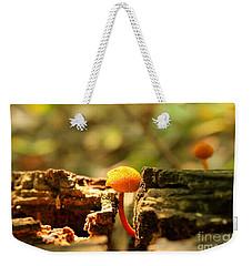 Tiny Mushroom Weekender Tote Bag