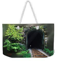 Tiptop Train Tunnel Weekender Tote Bag