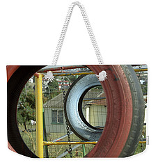Tires In An Orphanage Weekender Tote Bag