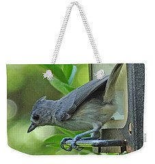 Titmouse Weekender Tote Bag by Lizi Beard-Ward
