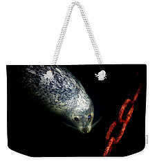 To A Pier  Weekender Tote Bag by Micki Findlay