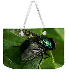 To Be The Fly On The Salad Greens Weekender Tote Bag by Barbara St Jean