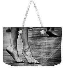 To Dance Weekender Tote Bag by Caitlyn  Grasso