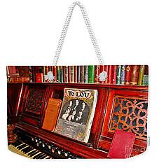 To Lou Weekender Tote Bag by Janice Rae Pariza