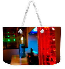 To The Bar Weekender Tote Bag by Melinda Ledsome