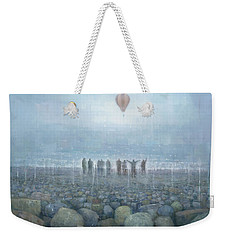 To The Mountains Of The Moon Weekender Tote Bag