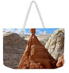 Toadstool Trail 1 Weekender Tote Bag by David Beebe