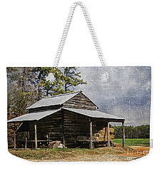 Tobacco Barn In North Carolina Weekender Tote Bag