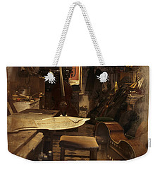 Tobacco Cello Weekender Tote Bag